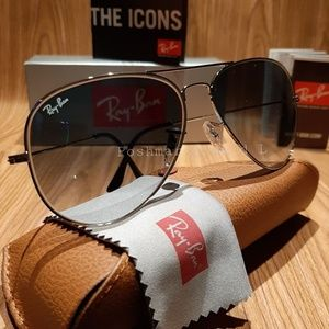 Ray-Ban Round Metal Blue Gradient / Silver Frame